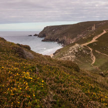 View over St. Agnes and Chapel Porth