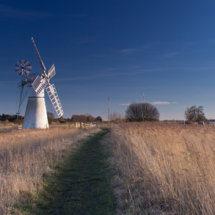 The Windmills at Thurne and St Benet's