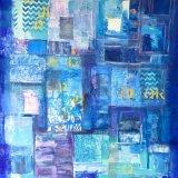 Messages. Acrylic on canvas, 120cmx 200cm,