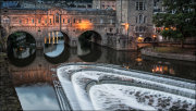 """Pulteney Bridge & Weir"""