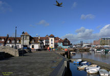 Fishing Lymington Quay!