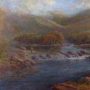 "Autumn - Isle of Mull, 24"" x 16"", Oils"