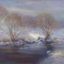 "Solitude - River Deveron, 16"" x 12 "", Oils"