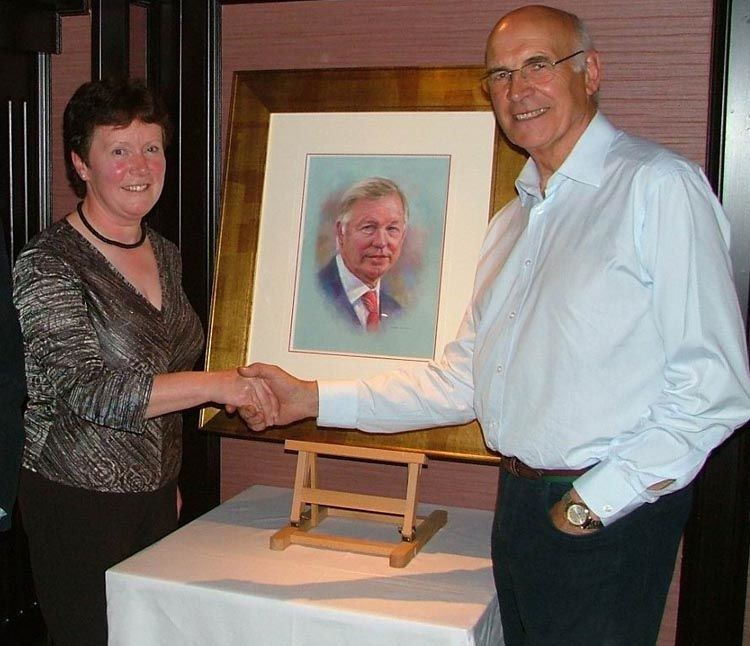 Successful Bid - Auction of Sir Alex Ferguson's portrait in pastels