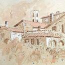 Village, Tuscany