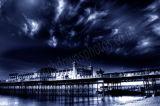 Brighton Pier Black