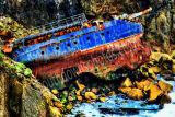 Cornwall Boat Wreck
