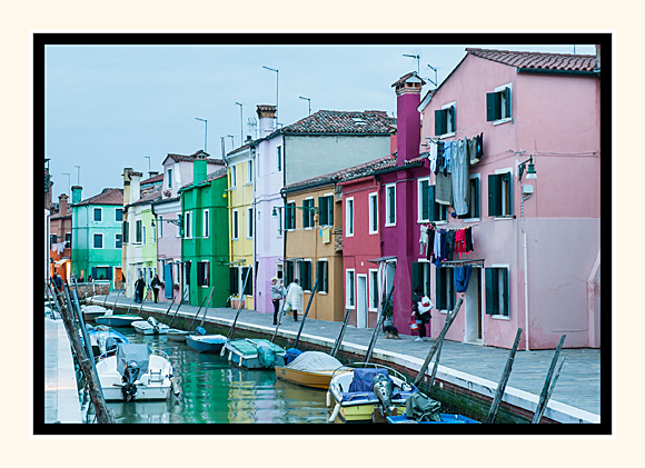 End Of A Day on Burano
