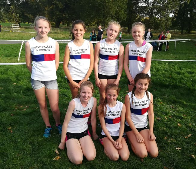 The winning U13 Girls Team