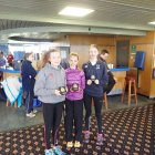 With their individual awards - Megan Ellison, Amber Park and Josie Fortune