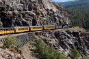 Steam Train en route from Durango to Silverton