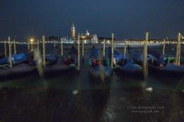 Night Gondolas and San Giorgio Maggiore