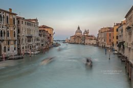View of the Grand Canal after Sunset