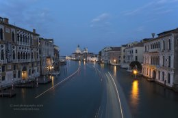 Night Falls on the Grand Canal