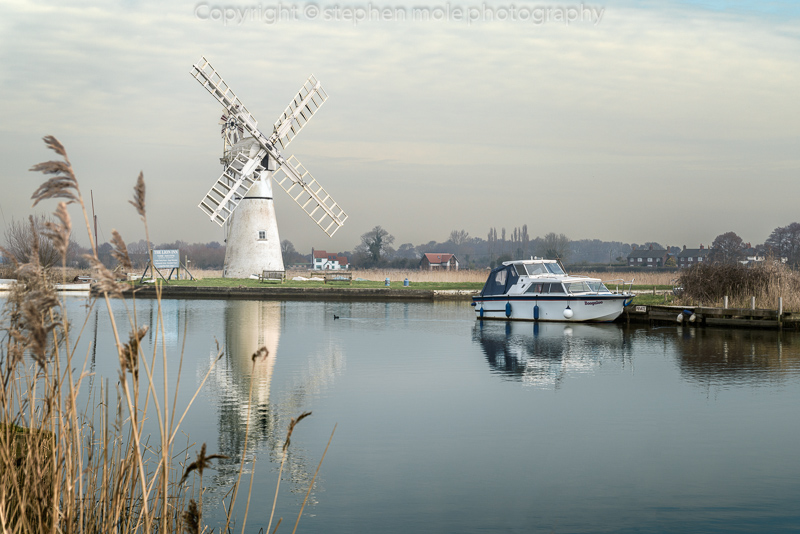 Thurne Mill reflection