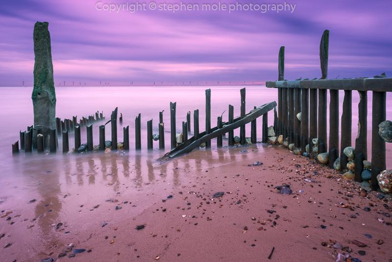 Groyne dawn
