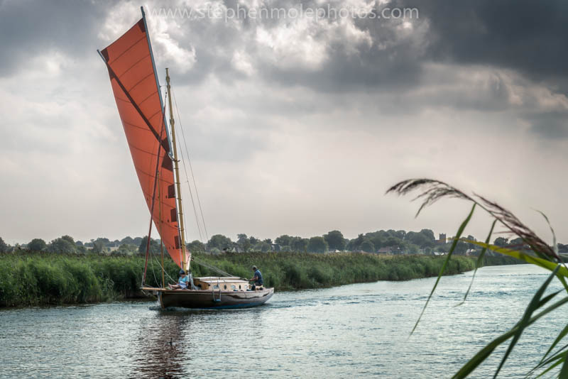 Sailing at Thurne