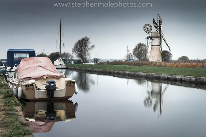 Thurne Mill from Thurne Staithe