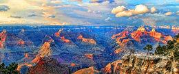 Grand Canyon Sunset, USA