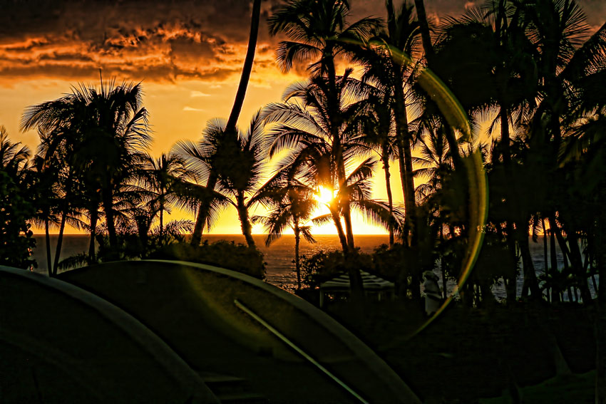 Sunset, The Big Island, Hawaii