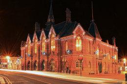 Wokingham Town Hall Lights, Berkshire
