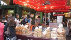 Bakers in market