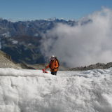 Paul Russell in the Alps