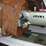 Making Suede-Sheepskin Bag