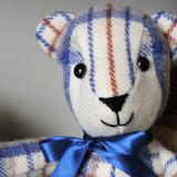 Vintage Welsh Blanket Bear