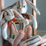 Vintage Welsh Blanket Rabbits