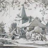 Bury Church, viewed from the river Estate of Peter Iden #336