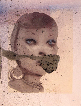 Untitled (Barbie, the Original, Marlene Dumas) 2017