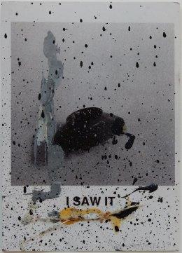 Untitled (John Baldessari, I Saw It 1996) 2017