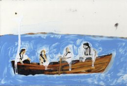 Cameron and Merkel in a Boat 1 Phill Hopkins 2014