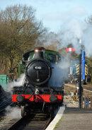 4141 Entering North Weald Station
