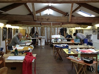 Artists in the Stables gallery