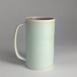 Straight up coffee - Aqua / Damson £22 incl uk mainland p&p