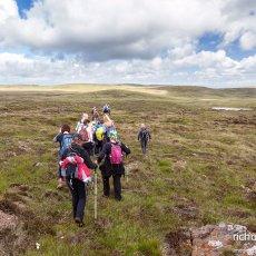 Crossing the Antrim Plateau