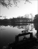 Still as a mill pond