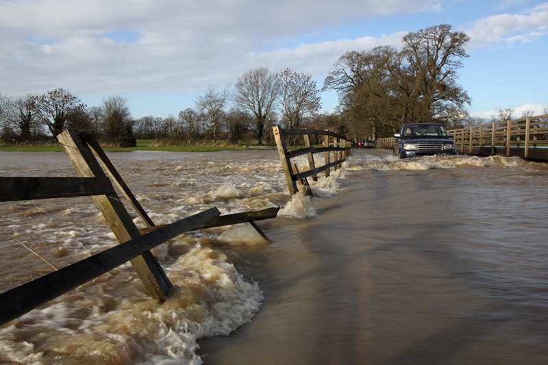 Winter Floods, Lacock