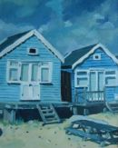 Beach Hut I - Private collection