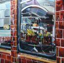 Digger, Camden Town Reflection