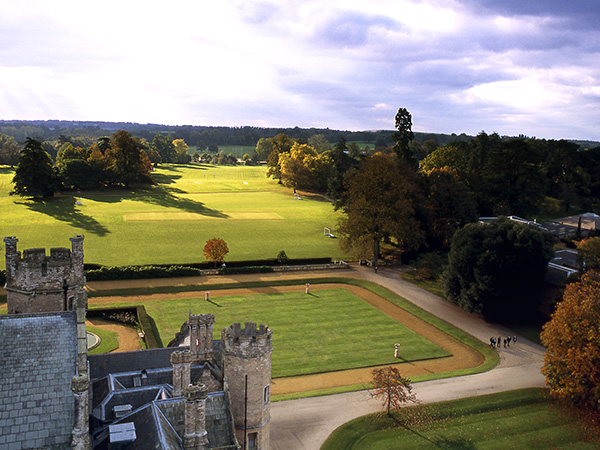 Canford School - View from the Tower