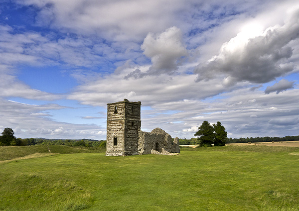 Ruins of Knowlton Church
