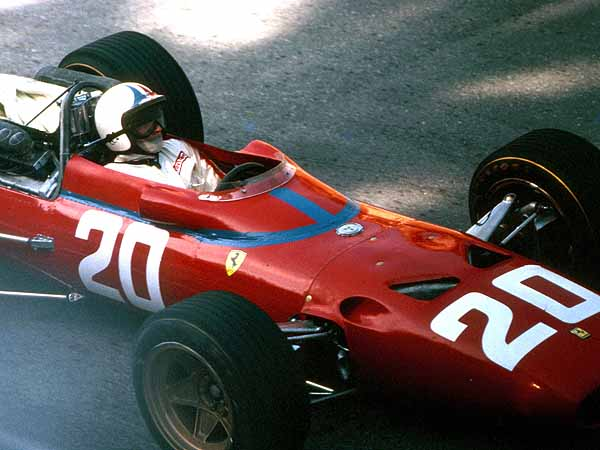 Monaco GP 1967 Chris Amon Ferrari