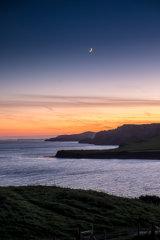 New Moon over Kimmeridge