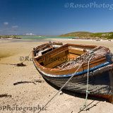 Boat near Cockle Strand, Isle of Barra