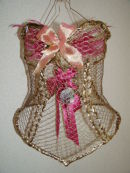 Bird in a Gilded Cage Corset.