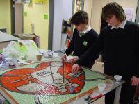 BHF school mosaic