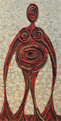 EARTH MOTHER MOSAIC£395 incl. p&p